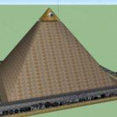 Egyptian Illuminati Pyramid