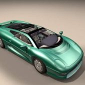 Car Jaguar Xj 220
