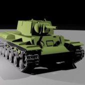 Kv-1 Heavy Tank Soviet