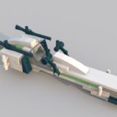 Lego Speeder Vehicle