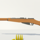 Low Poly Mosin