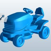 Riding Lawn Mower Machine