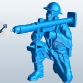 Soldier With Bazooka