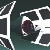 Star Wars E-tie Aircraft