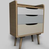 Furniture Bedside Cabinet