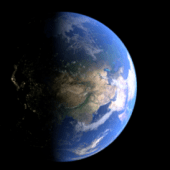 Ultra Realistic Earth Scene