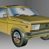 Vaz 2104 Car