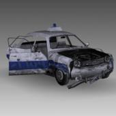 Wracked Dacia Car