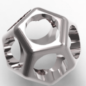 Dodecahedron Ring