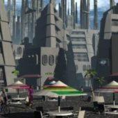 Sci-fi Future City