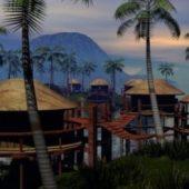 Tropical Paradise Exterior