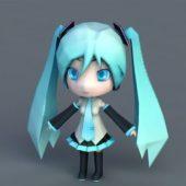 Chibi Character Hatsune Miku