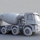 Vehicle Concrete Mixer Truck