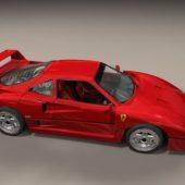 Ferrari F40 Sport Car