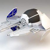 Jedi Star Spaceship