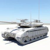 Modern Heavy Tank Weapon
