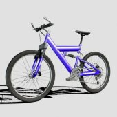 Purple Color Mountain Bike