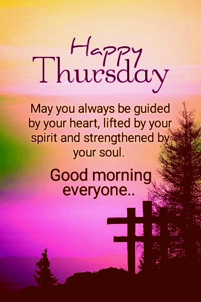 Good Morning Thursday Inspirational Quotes with Images