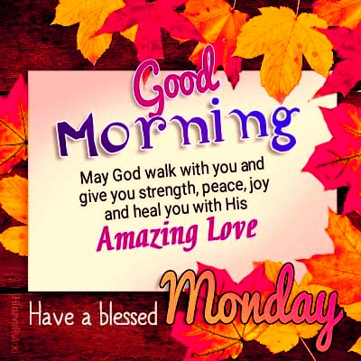 Good morning monday blessing quote