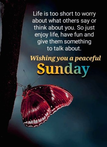 good morning sunday messages