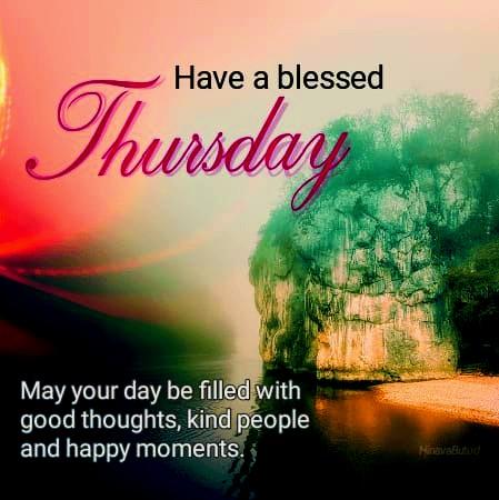 happy thursday blessed