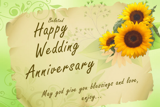 Awesome happy wedding anniversary wishes greetings