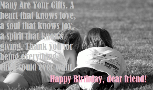 50 Quotes For A Special Friend For His Birthday: Birthday Quotes For Best Friend {Best Happy B'day Greetings}