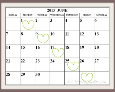 Free Printable June-2015-Calendar-easy-print