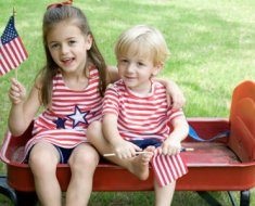 American Independence Day Activities for girls on fourth july
