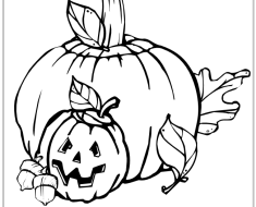 Free pumpkin coloring pages to print