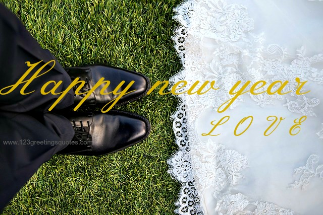 Happy New Year 2016 Wishes for Wife Husband - {Life Partners Images }