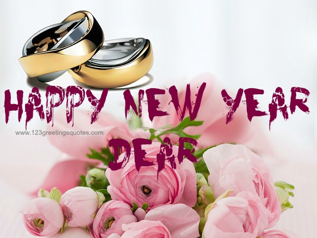 Happy New Year to Husband