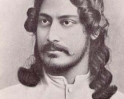 Rabindranath Tagore Poems written (By) Hindi Language on Nature for Kids