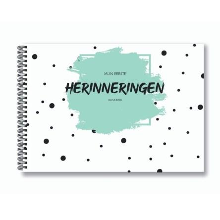 Mijn eerste herinneringen invulboek