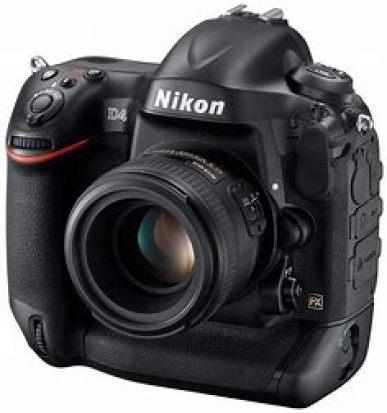 Nikon pro camera