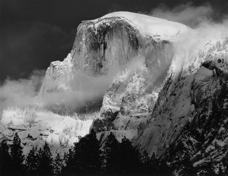 Portrait of Half Dome, Yosemite National Park, CA, 2006