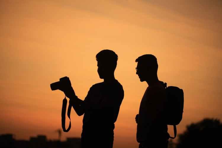 backlit camera dawn dusk