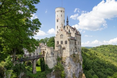 Tour of Lichtenstein Castle