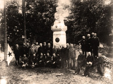 The September 4, 1888 Dedication of the 123rd Regiment monument and veterans