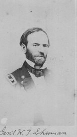 Union General Tecumseh Sherman