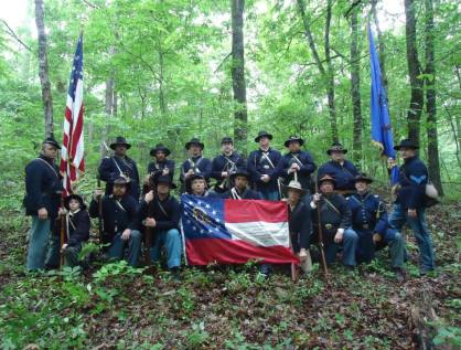 28th Georgia and 123rd Regiment 2
