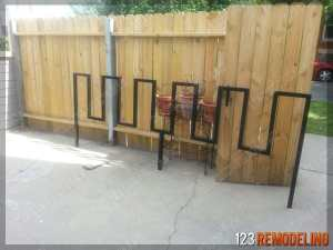 Custom Bike Rack Metal Fabrication