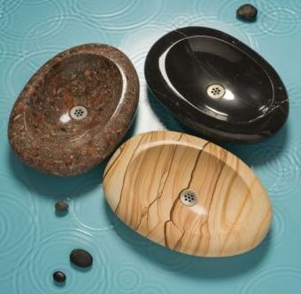 Stone Forest River Pebble Vessel