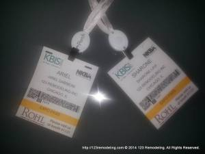 KBIS 2014 - Show Passes