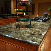 granite countertop in kitchen