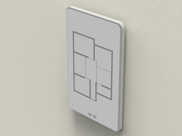 floorplan light switch