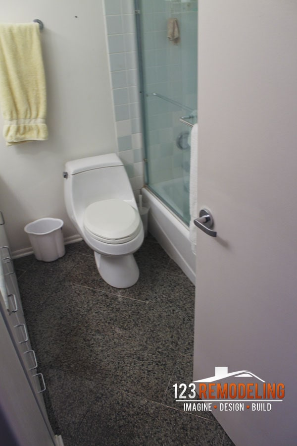Before Bathroom Remodel - 111 E Chestnut, Chicago, IL (Magnificent Mile)