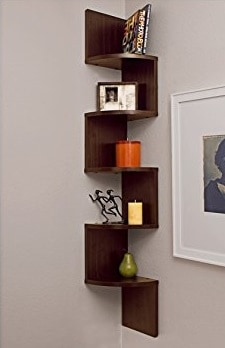creative small bathroom ideas corner shelf
