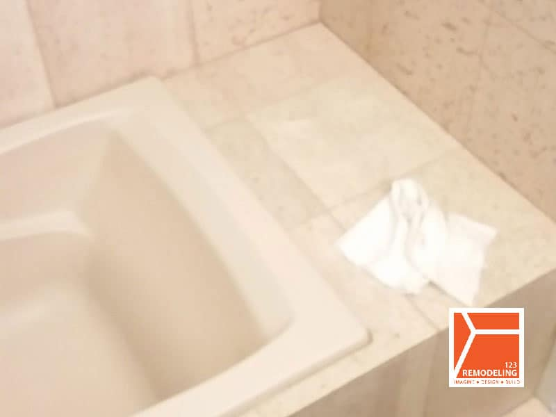 Before Condo Guest Bathroom Remodel - 505 N. Lake Shore Dr, Chicago, IL (Streeterville)