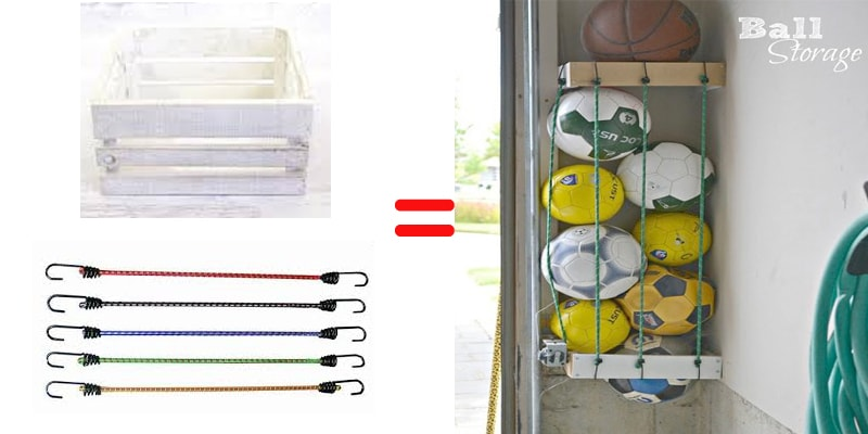 garage ball organizer storage remodeling
